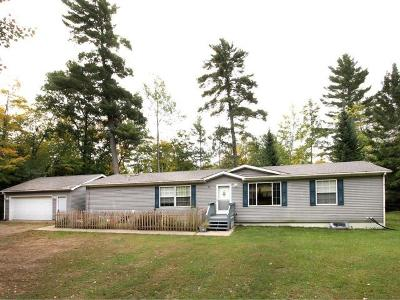 Eagle River WI Single Family Home For Sale: $199,000