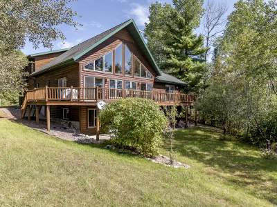Minocqua Single Family Home For Sale: 10451 Blue Lake Rd