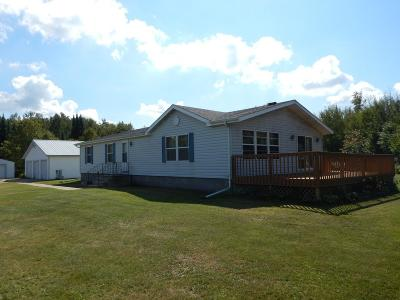 Aniwa, Elcho, Summit Lake, Bryant, Deerbrook, Elton, Lily, Pearson, Phlox, Pickerel, Polar, White Lake, Birnamwood Single Family Home For Sale: W3339 Porky Ln