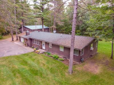 Manitowish Waters Single Family Home For Sale: 13641 Powell Rd