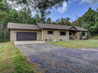Eagle River Single Family Home Active O/C: 3555 North Country Ln