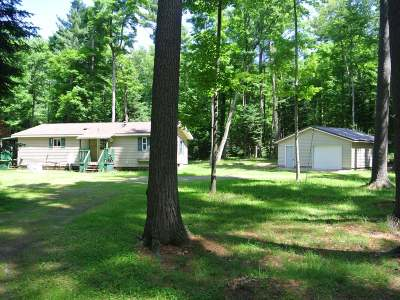 Three Lakes WI Single Family Home For Sale: $109,900