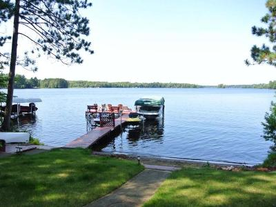 Three Lakes WI Single Family Home For Sale: $439,500