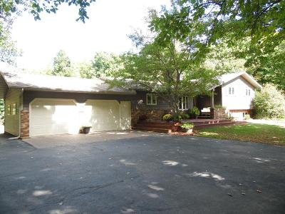 Single Family Home For Sale: W9986 Hwy 64