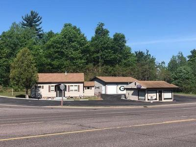 Minocqua Single Family Home For Sale: 8135-37 Hwy 51