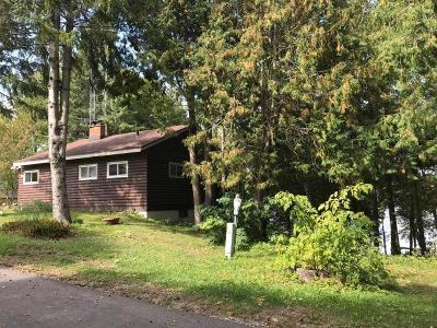 Forest County, Iron Wi County, Langlade County, Lincoln County, Oneida County, Vilas County Single Family Home For Sale: 6460 Windfall Ln