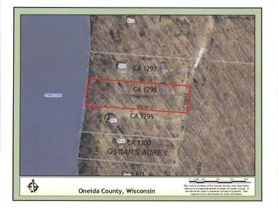 Rhinelander Residential Lots & Land For Sale: Lot 2 Currie Lake Rd