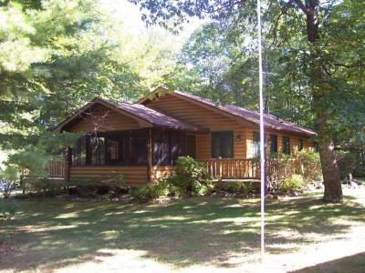 Lac Du Flambeau WI Single Family Home For Sale: $550,000