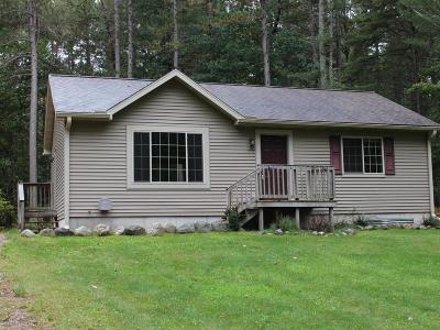 Minocqua WI Single Family Home Active O/C: $179,900