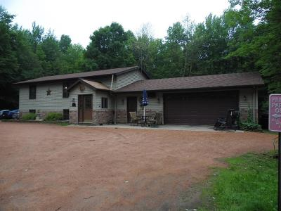 Merrill Single Family Home For Sale: W9136 Cth Ff