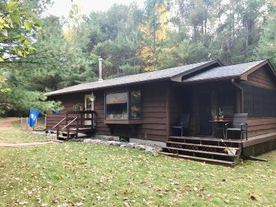 Eagle River WI Single Family Home Active O/C: $159,000