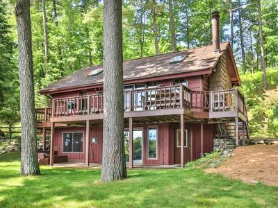 Minocqua Single Family Home For Sale: 8258 Mercer Lake Tr