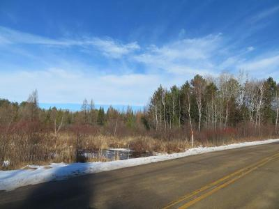 Elcho Residential Lots & Land For Sale: On Cth U #W8800