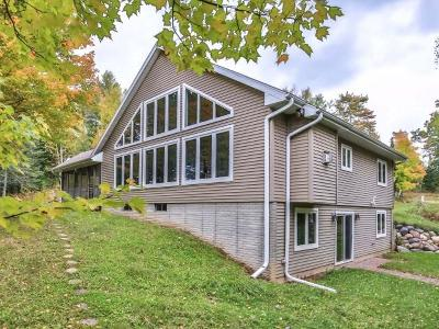 Aniwa, Elcho, Summit Lake, Bryant, Deerbrook, Elton, Lily, Pearson, Phlox, Pickerel, Polar, White Lake, Birnamwood Single Family Home For Sale: 1537 Maple Ridge Rd