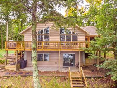 Langlade County, Forest County, Oneida County Single Family Home For Sale: 144 Puelicher Ln