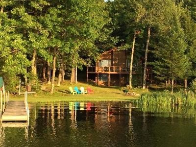 Minocqua WI Single Family Home For Sale: $499,900