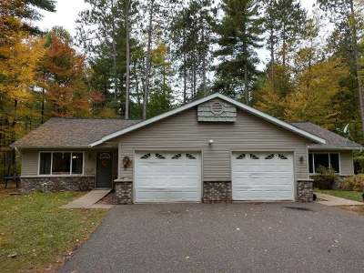 Eagle River WI Duplex For Sale: $162,000