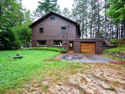 Tomahawk WI Single Family Home For Sale: $245,700