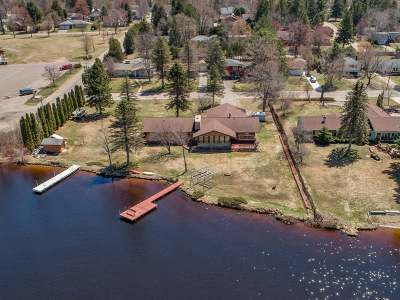 Lincoln County, Price County, Oneida County, Vilas County Single Family Home For Sale: 829 Lake Shore Dr
