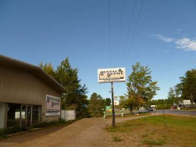 Eagle River Commercial For Sale: 1161 Hwy 45