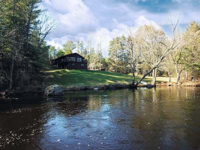 Langlade County, Forest County, Oneida County Single Family Home For Sale: 4561 River Bend Rd