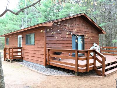 Forest County, Iron Wi County, Langlade County, Lincoln County, Oneida County, Vilas County Single Family Home For Sale: 143 Korth Ln
