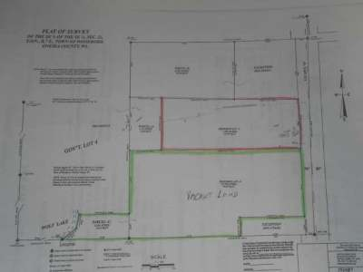 Rhinelander Residential Lots & Land For Sale: Near Hwy 8
