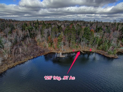 Minocqua WI Residential Lots & Land Active O/C: $129,000