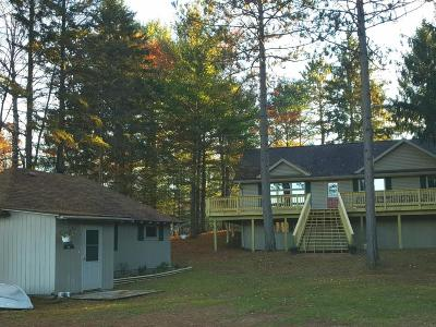 Manitowish Waters Single Family Home For Sale: 13407 Bay Rd