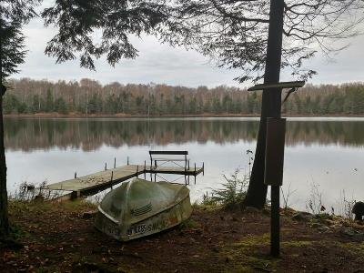 Forest County, Iron Wi County, Langlade County, Lincoln County, Oneida County, Vilas County Single Family Home For Sale: 1017n Grey Lake Rd