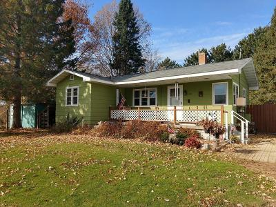 Price County Single Family Home Active O/C: 226 Shaw St