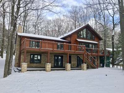 Minocqua WI Single Family Home For Sale: $1,399,000