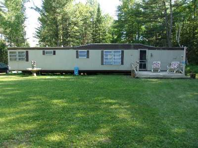 Forest County, Iron Wi County, Langlade County, Lincoln County, Oneida County, Vilas County Single Family Home For Sale: 2886w Bisenius Rd
