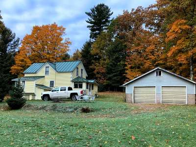 Forest County, Iron Wi County, Langlade County, Lincoln County, Oneida County, Vilas County Single Family Home For Sale: 4090 Chicago Ave