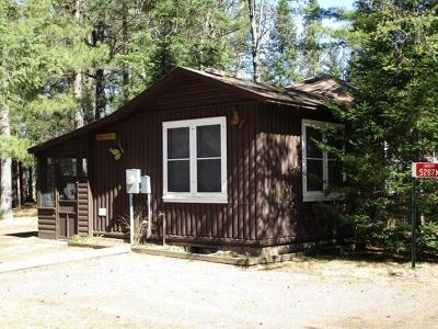 Forest County, Iron Wi County, Langlade County, Lincoln County, Oneida County, Vilas County Condo/Townhouse For Sale: 5287n Goettsche Rd