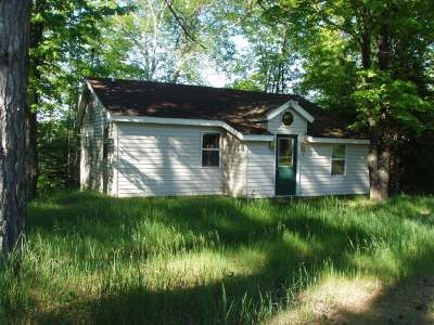 Forest County, Iron Wi County, Langlade County, Lincoln County, Oneida County, Vilas County Single Family Home For Sale: 3598w Bearskull Rd