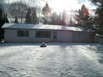 Phillips Single Family Home For Sale: N8008 Wilson Lake Rd