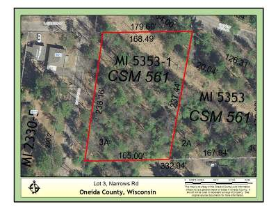 Residential Lots & Land For Sale: Lot 3 Narrows Rd