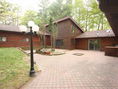 Lincoln County, Price County, Oneida County, Vilas County Single Family Home For Sale: 5414 Nature Rd