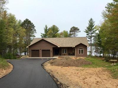 Lincoln County, Price County, Oneida County, Vilas County Single Family Home For Sale: 5706 Eagles Bluff Rd