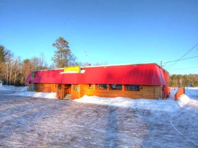 Vilas County Commercial For Sale: 134 Hwy 51