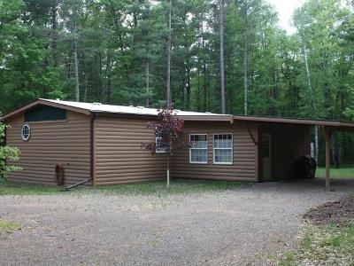 Minocqua Single Family Home For Sale: 11291 Kilawee Rd