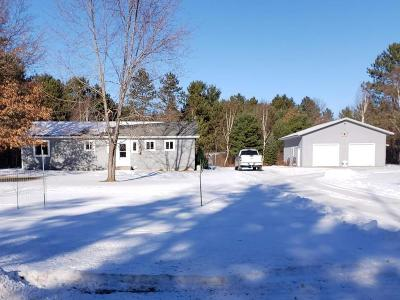 Tomahawk WI Single Family Home For Sale: $169,900