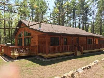 Minocqua Single Family Home Active O/C: On Brunswick Rd
