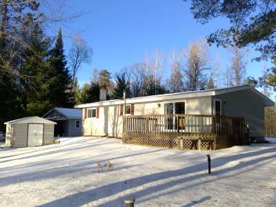 Lincoln County, Price County, Oneida County, Vilas County Single Family Home Active O/C: 2981 Lake George Rd E