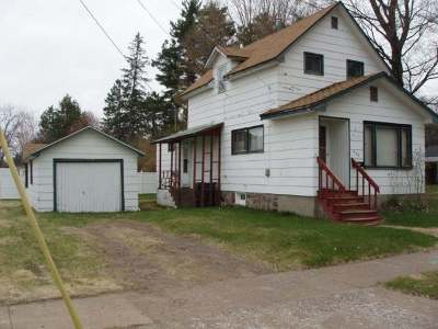 Park Falls Single Family Home For Sale: 336 Wisconsin St