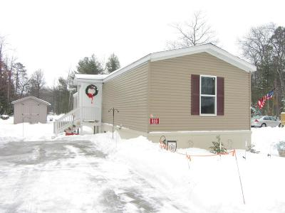 Eagle River WI Single Family Home For Sale: $47,500