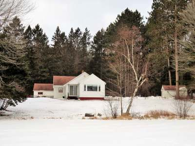 Langlade County, Forest County, Oneida County Single Family Home For Sale: 5211 Hixon Lake Rd