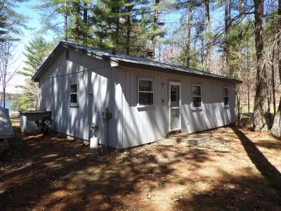 Tomahawk Single Family Home For Sale: N11485 Cottage Rd