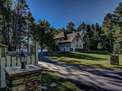 Eagle River WI Single Family Home For Sale: $649,000
